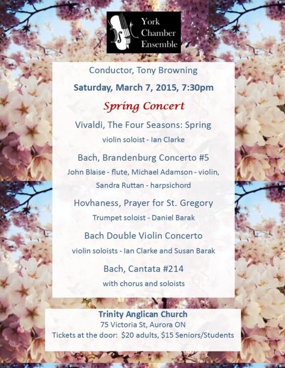 Spring Concert 2015